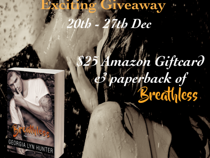 MoBPromos: Breathless Release Giveaway